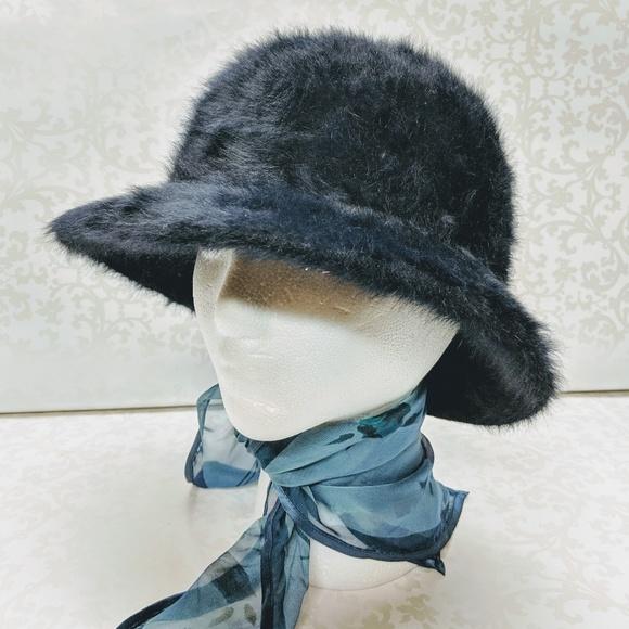 c57ae21fe7574 Kangol Accessories - Kangol Midnight Blue Angora Hat